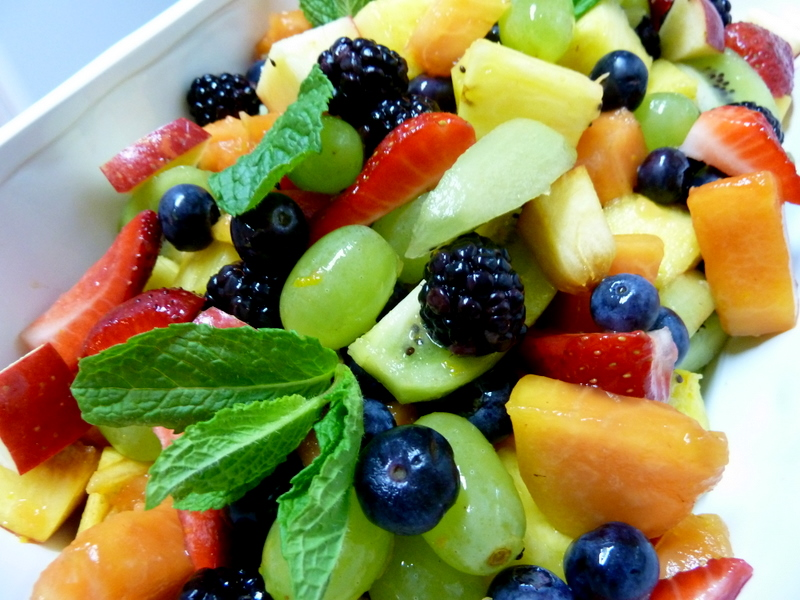 colorful fruit healthy fruits salad recipes