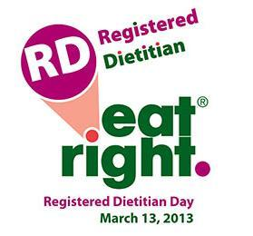 Eat Right, Registered Dietitian Day